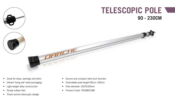 TELESCOPIC POLE